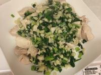 健身料理-水煮雞胸肉佐蔥蒜(黃俊推薦)