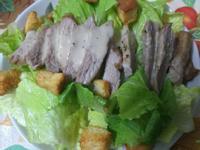 ㄚ曼達的廚房~凱撒松板沙拉