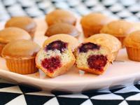 養樂多莓果杯子蛋糕