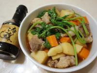 電鍋煮塔香馬鈴薯燉肉【淬釀全菜單挑戰賽】