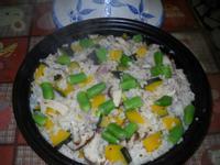 鮮菇南瓜燉飯