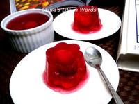 紅寶石蔓越莓果凍