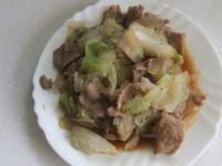 清炒豬肉高麗菜