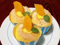 香橙胡蘿蔔杯子蛋糕