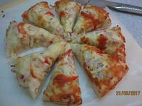 【麵包機】海鮮厚片披薩