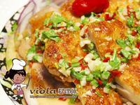 香煎椒麻雞