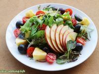 輕盈水果沙拉(葡萄籽油&巴薩米克蘋果醋)