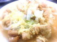 全雞料理 - 雞湯 和 白菜燒雞