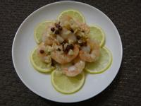【餐桌上的美味練習題】紅胡椒蒜末檸檬蝦