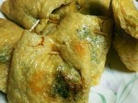 韭菜盒子(用豆皮代替外皮,健康)