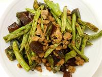 お弁当-170613-四季豆肉末炒皮蛋