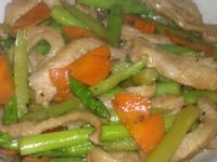 醬燒松阪肉鮮炒蘆筍