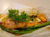營養師的廚房: 護心紙包焗鮭魚