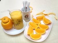 香吉士水果果凍+果汁
