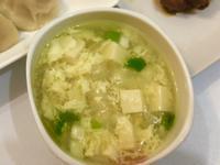 洋蔥豆腐蛋花湯