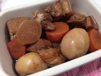 蘿蔔滷肉&油豆腐