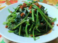 ㄚ曼達的廚房~明目地瓜葉