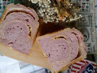 【麵包機食譜】紫薯菠蘿奶酥吐司