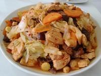 【炒泡菜什錦蒟蒻麵】瘦身也能美味吃。