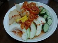 泰式甜雞醬拌蔬果