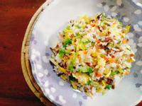 鮮蔬蛋炒飯一超簡單