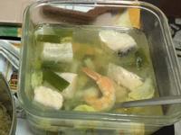 鮭魚味增精力湯