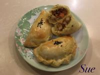 杏鮑菇咖哩餃