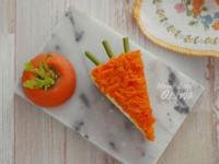 小廚娘❤免烤蜂蜜胡蘿蔔重乳酪蛋糕