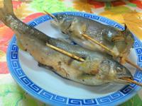 ㄚ曼達的廚房~烤香魚(氣炸鍋)