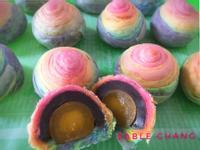 🌈彩虹蛋黃酥
