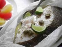 小廚娘❤檸檬酸豆紙包魚#電鍋