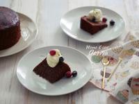 小廚娘❤藜麥巧克力鬆餅蛋糕#美善品