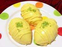 百香果檸檬蛋糕(戚風蛋糕)