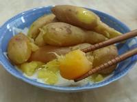 土鳳梨蒸地瓜