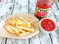 Prego蕃茄肉醬沾烤薯條
