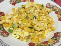 玉米炒雞蛋