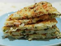 蝦仁蔬菜煎餅