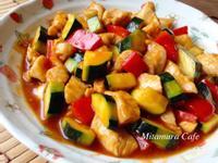 茄汁鮮蔬炒雞丁
