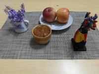 (煮食影片) 蘋果果醬 (麵包機食譜)
