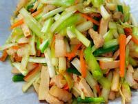 韭黃炒肉絲豆干