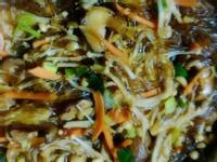 金針菇炒冬粉