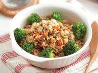 綠豆雙菇燉飯(燉煮法)
