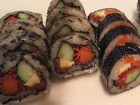 夏天吃不下飯來點花壽司爽口有好吃