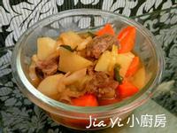 馬鈴薯燉牛肉🐂