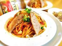 松板蒜味紅醬麵「Prego 義大利麵醬」