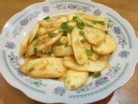 金沙茭白筍(5分鐘快速上桌)