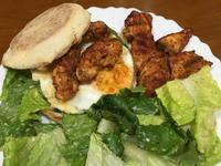 高蛋白「孜然雞肉住在馬芬雞蛋裡」435卡