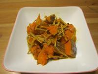 懶人妻的超簡單料理~「薑絲南瓜」