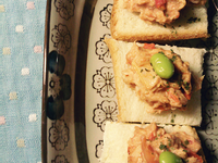 蕃茄鮪魚乳酪抹醬
