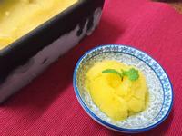 十分鐘完成的芒果薄荷雪酪 sorbet